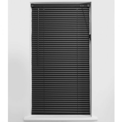 Universal 25mm PVC Venetian Blind - Black